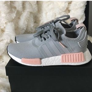 Adidas nmd women's 5.5 pink and grey